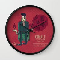 Carlyle, The Christmas V… Wall Clock