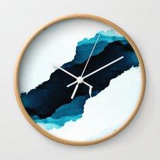 Teal Isolation Wall Clock
