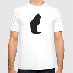 Lucky SMALL White Mens Fitted Tee