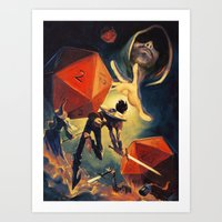 The Dungeon Master Art Print