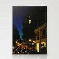 Paris By Night V Stationery Cards