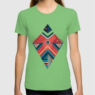 Arrow 06 Womens Fitted Tee Grass SMALL