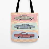 Motor Style Inc.: 60s Am… Tote Bag