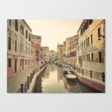 Exploring Venice  Canvas Print