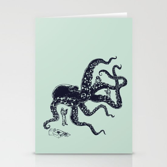 Experimental Music Stationery Card