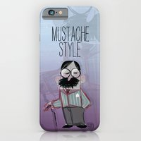 Man With Mustache iPhone 6 Slim Case