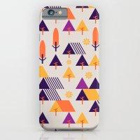iPhone & iPod Case featuring Forest Walk by Ann Van Haeken