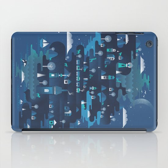 Land of the Blue Mountains iPad Case