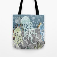 Floatin' Jellyfish Tote Bag