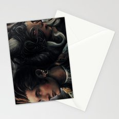Balthier and Fran Final Fantasy 12 Portraits Stationery Cards