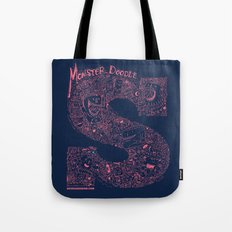 Monster Doodle Tote Bag