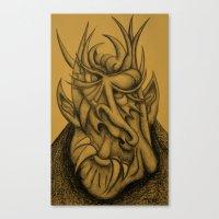 Nice Demon Canvas Print