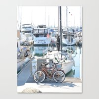 Living on the Go Canvas Print