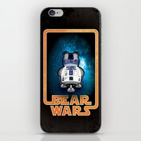 Bear Wars - GRRR2D2 iPhone & iPod Skin