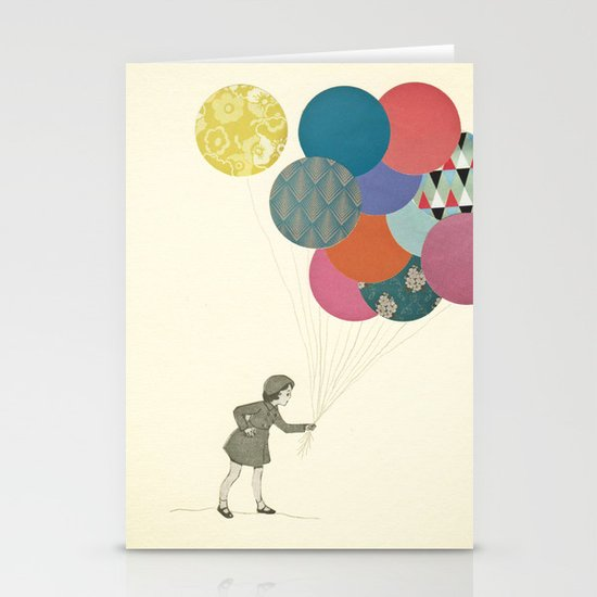 Party Girl Stationery Card