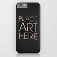 iPhone & iPod Case featuring The Art Placeholder by Dirk Petzold