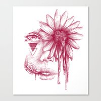Love And Sorrow Canvas Print