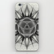 iPhone & iPod Skin featuring Styr Stryy Monochrome by Spires
