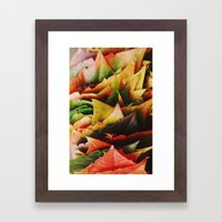 Pile Framed Art Print