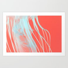 neon jelly Art Print