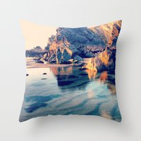 Crystal Clear, Beautiful… Throw Pillow