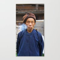 Long-Skirt Miao minority in China Canvas Print