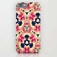 iPhone & iPod Case featuring Kaleidoscope Orchids by kangarooster