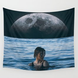 Wall Tapestry - Moon River - Seamless