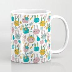 Pattern Project #14 / Bunny Faces Mug