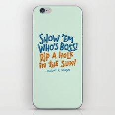 Dwight K. Schrute iPhone & iPod Skin