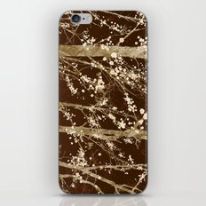 Make it Through (woodland brown edition) iPhone & iPod Skin