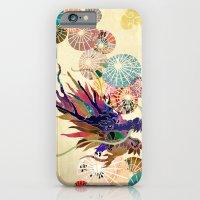 Dragon With Unbrellas iPhone 6 Slim Case