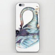 Elephant Shower iPhone & iPod Skin
