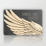 Laptop & iPad Skin featuring Isaiah 40:31 Wings Like … by Pocket Fuel