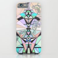 iPhone & iPod Case featuring Aztec by QUEQZZ