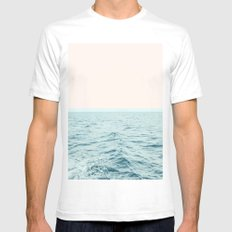 Sea Breeze #society6 #decor #style #tech Mens Fitted Tee White SMALL