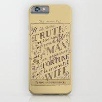 Jane Austen Covers: Pride and Prejudice iPhone 6 Slim Case