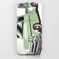 iPhone & iPod Case featuring Rat Rod Truck by C Barrett