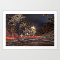 Vista Nocturna / Night V… Art Print