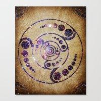 The Harmonious Circle  Canvas Print