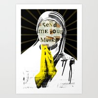 The Prayer Art Print