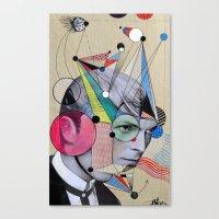 STARMAN .. Homae Canvas Print