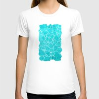 turquoise T-shirts featuring turquoise by Antracit