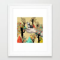 Found You There  Framed Art Print