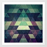 dysty_symmytry Art Print