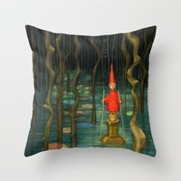 Small Journeys Throw Pillow