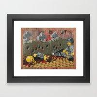 Russian Partisan Execution Framed Art Print