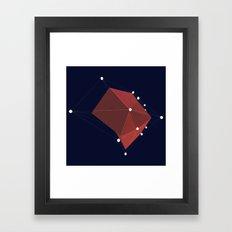 3d abstraction  Framed Art Print