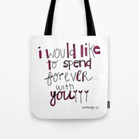 Forever With You.  Tote Bag