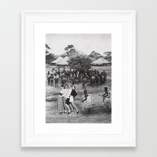 Jambo's Mambo Framed Art Print